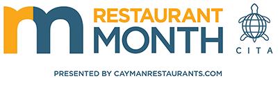 Cayman Restaurant Month 2021 Logo